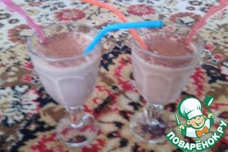 """Молочный коктейль """"Шоколадный шок"""""""