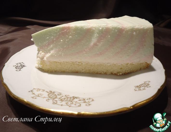 """Творожный торт-желе """"Радужное настроение"""""""