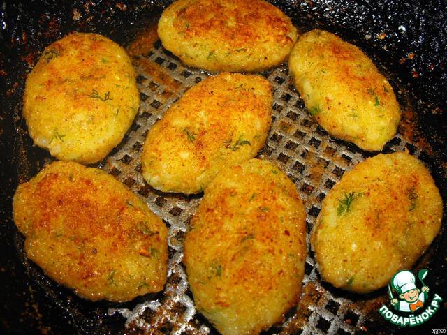 И обжарьте на растительном масле до хрустящей золотистой корочки.   Приятного аппетита!!!