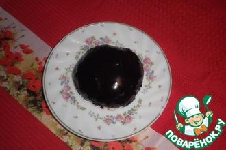 Булочки с шоколадной глазурью