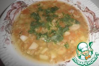 """Суп из чечевицы """"Яркость"""""""