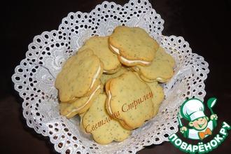 Лимонно-маковое печенье со сливочным сыром