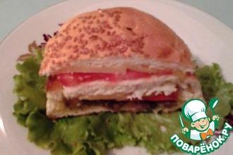Многослойный закрытый бутерброд
