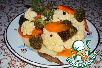 """Маринованная закуска """"Хороша капустка... """""""