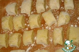 Картофельные клецки с луком