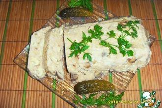 Куриный паштет с грибами