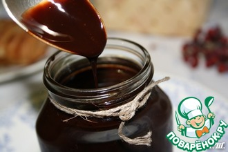 Домашний шоколадный сироп