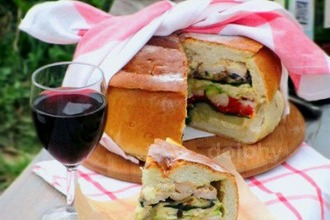 Богатый хлеб для пикника