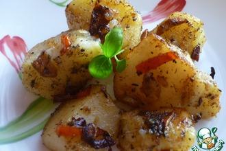 Картофель с чесноком и острым перцем