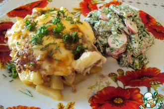 """Картошка """"под одеялом"""""""