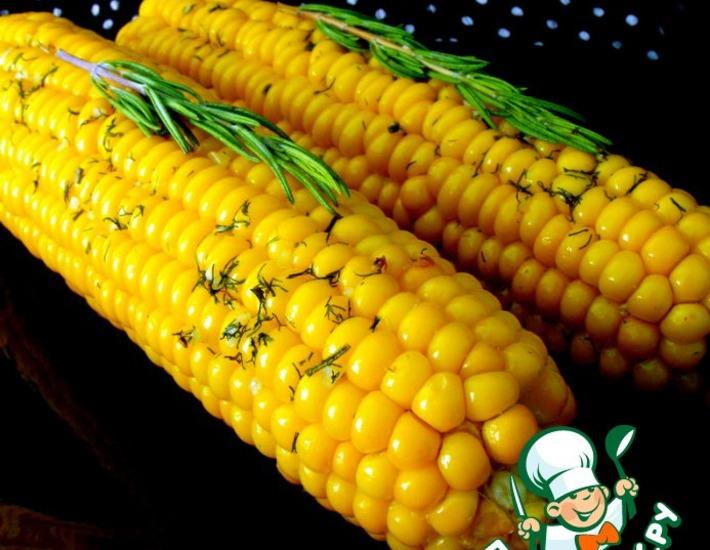 Кукуруза в ароматическом масле