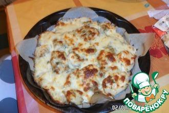Картофель, запеченный с сыром сулугуни