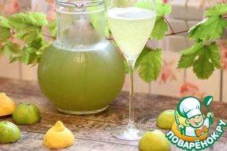 """Освежающий и полезный домашний лимонад """"Тархун"""""""