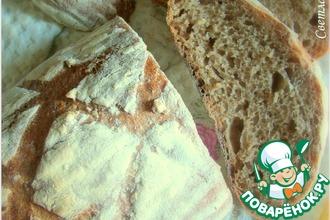 Хлеб с цельнозерновой мукой на закваске