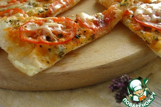 """Пицца"" на сковородке"
