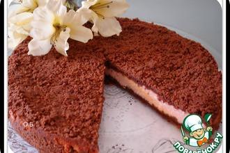 Пирог из рассыпчатого теста с творогом