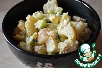 Простецкий теплый картофельный салат