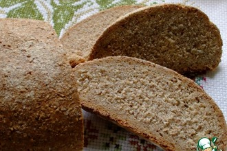 Хлеб из ржаной муки грубого помола