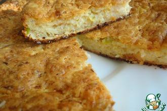 Пирог кабачковый с сыром