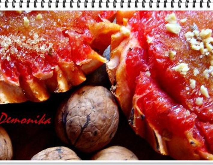 Запечeнный грейпфрут