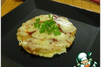 """""""Окономи-яки""""-японская пицца"""