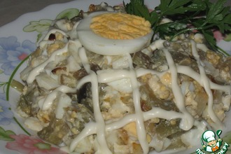 "Салат из баклажанов ""Интересный"""