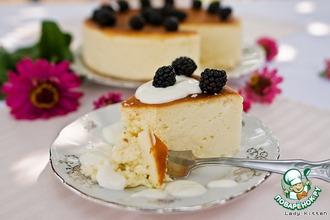 Сырный пирог с белым шоколадом