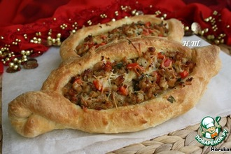 "Турецкая пицца ""Пидэ"""