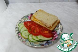 Вкуснючий бутерброд