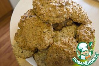 Печенье овсяное с изюмом и миндальным орехом
