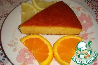 Миндально-апельсиновый пирог на меду без муки и сахара