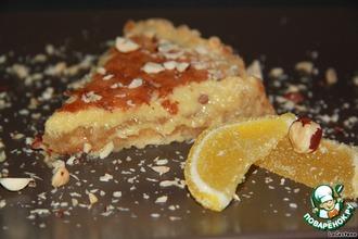 Лимонный крем-пирог