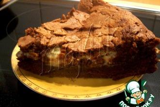 Влажный пирог с шоколадом и маскарпоне