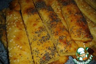 Творожные палочки с сыром