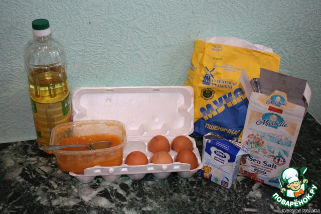 Подготовим все ингредиенты. Если у вас мед не жидкий, то его надо растопить на водяной бане.