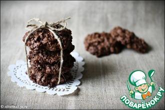 Шоколадно-овсяное печенье (без муки)