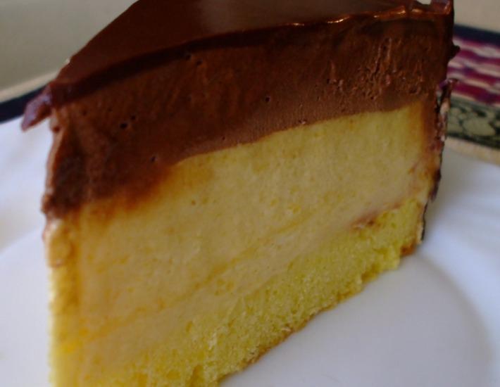 Торт с манго-муссом