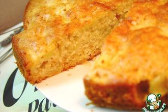 Будничный медово-яблочный пирог