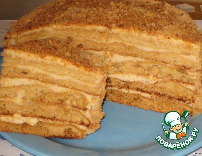 Торт медовый «Любимый»