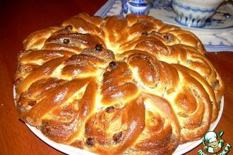 Пирог-рулет из венского теста