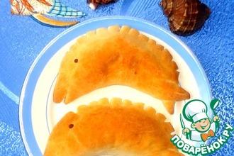 """Пирожки """"Дельфины"""" с разными начинками"""