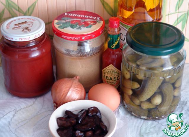 Это необходимые нам продукты. Можно использовать готовый майонез, или сделать самим по любимому вами рецепту. У меня на фото продукты с учетом, что майонез готовим сами.