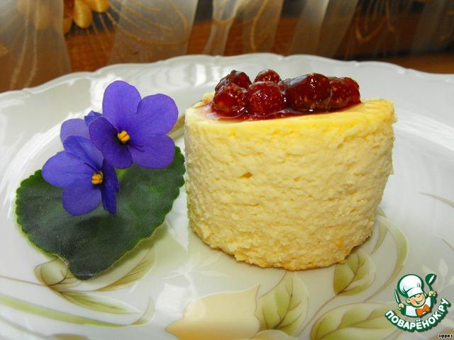 При подаче сверху украсить ягодами или вареньем (по желанию).   Приятного аппетита!!!
