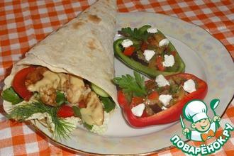 """Разукрасим пикник вкусом: Домашний Чикен Ролл и салат """"Пикник"""" под уникальным соусом от Blue Dragon"""