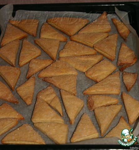 Как только печенье станет золотистым, вытаскиваем, перекладываем на тарелочку, чуточку ждем, чтобы остыло, и кушаем!