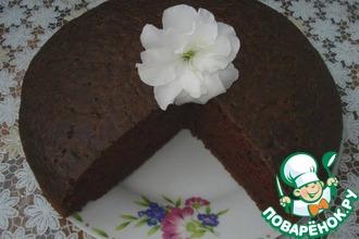 """Шоколадный пирог """"Все в одну форму"""""""