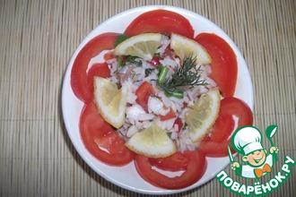 Рыбный салат по-индийски