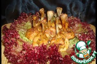 Закуска из куриных крылышек