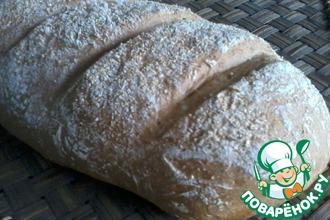 Пшенично-ржаной хлеб за 3 часа