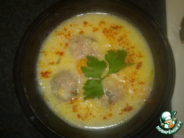 Суп по-гречески готов!!! Приятного аппетита!
